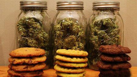 Galletas de marihuana