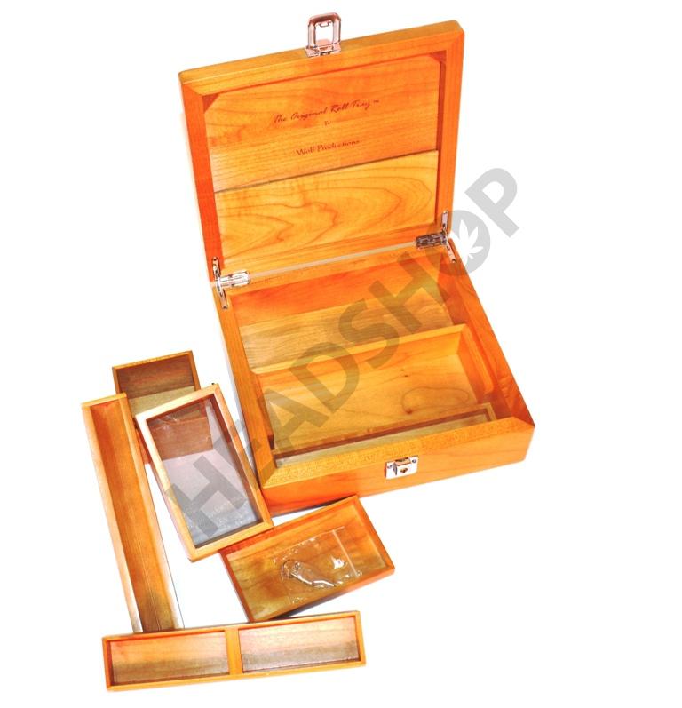 Caja madera T4 tray