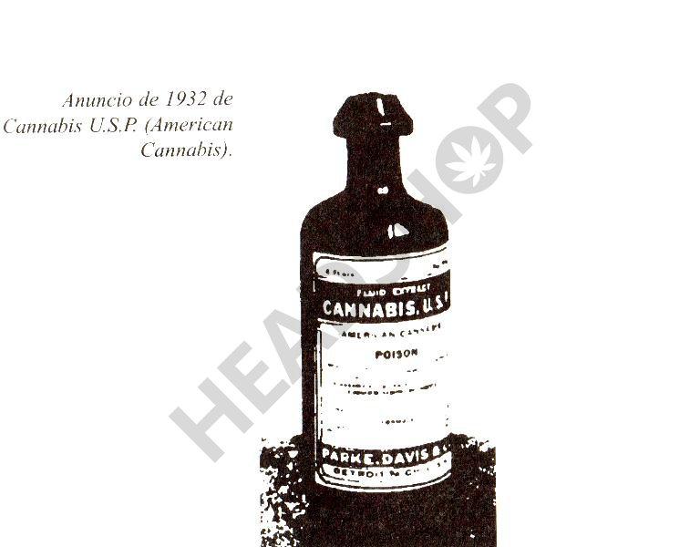 anuncio de cannabis de 1932