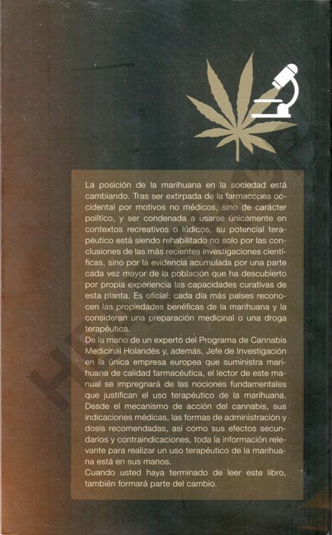 Libro sobre la marihuana medicinal