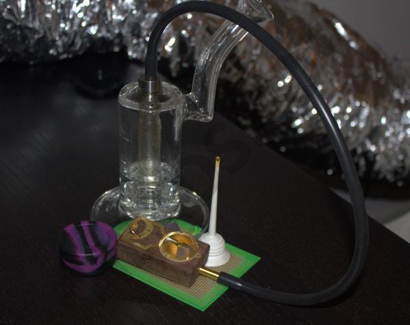 Enfriando el vapor con un bubbler conectado al Muad-dib