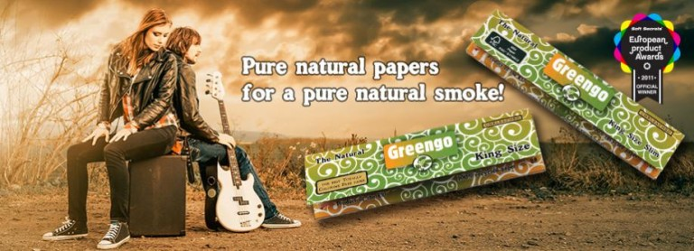 Papel de fumar natural Greengo
