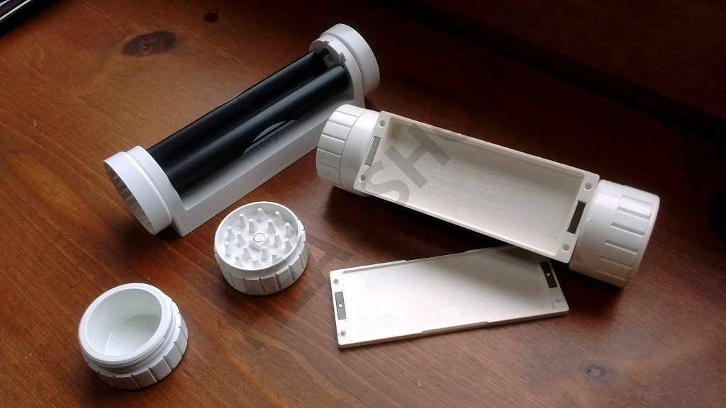 Compartimentos grinder liadora