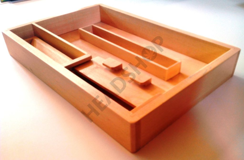 Caja Original Roll Tray J2 de Wolf Productions