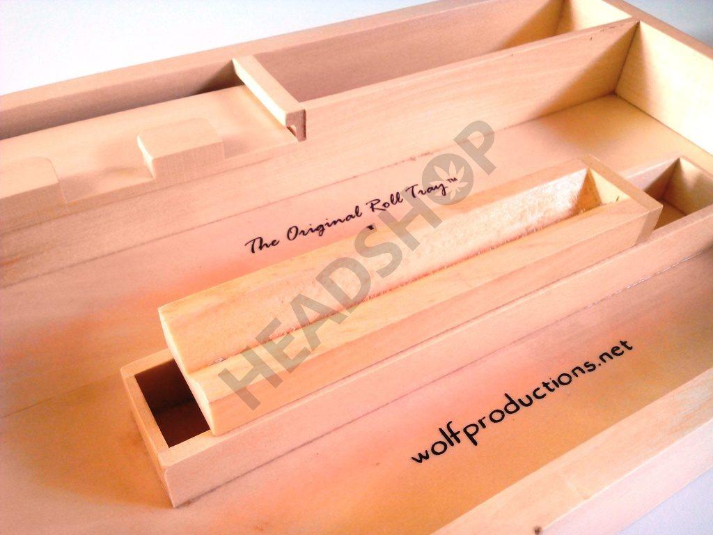 Distribución de la caja Roll Tray J2