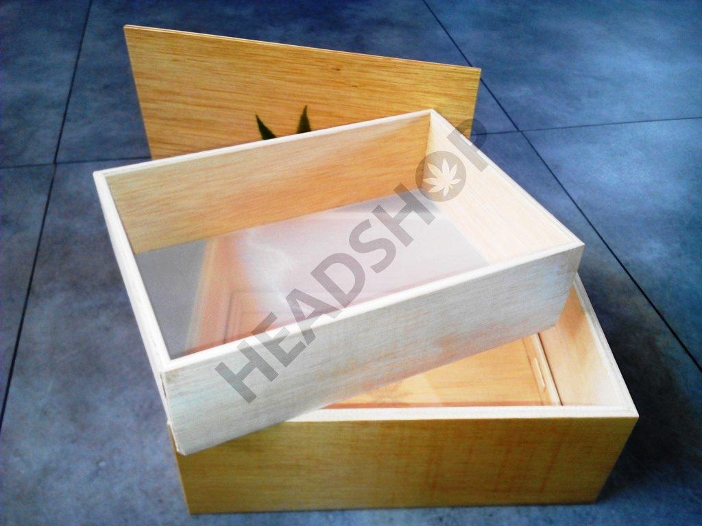 jaizkibel caja de extraccion de resina desmontada